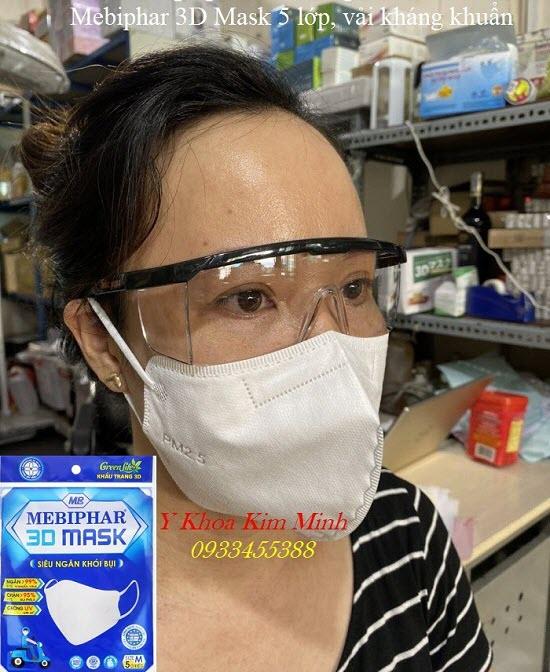Cung cấp khẩu trang Mebiphar 3D Mask giá sỉ