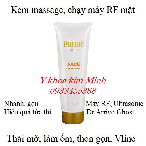 Kem massage làm ốm Vline cơ mặt Purfae 270g