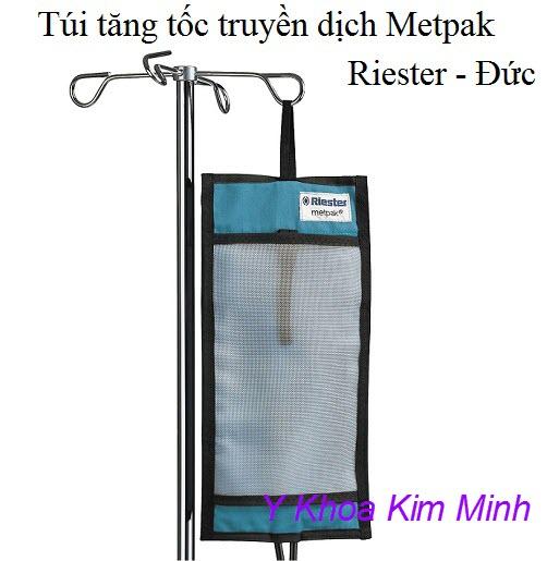 Túi tăng tốc truyền dịch Metpak Riester