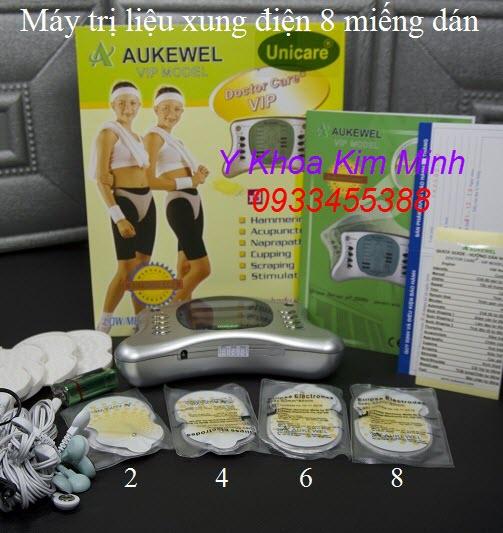 Aukewel VIP 8 miếng dán xung điện trị liệu giảm đau
