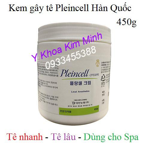 Kem gây tê Pleincell Hàn Quốc 450g