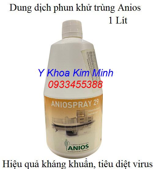 Aniospray 29 dung dịch phun khử trùng y tế