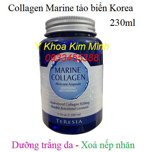 Collagen tảo biển Hàn Quốc dưỡng trắng, xoá nhăn 230ml