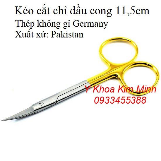 Kéo cắt chỉ đầu cong 11,5cm Pakistan