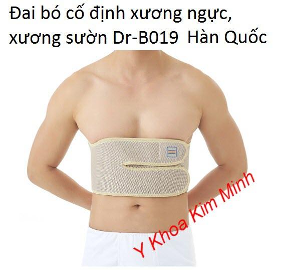 Đai bó xương ngực xương sườn Dr-B019 Dr Med Hàn Quốc