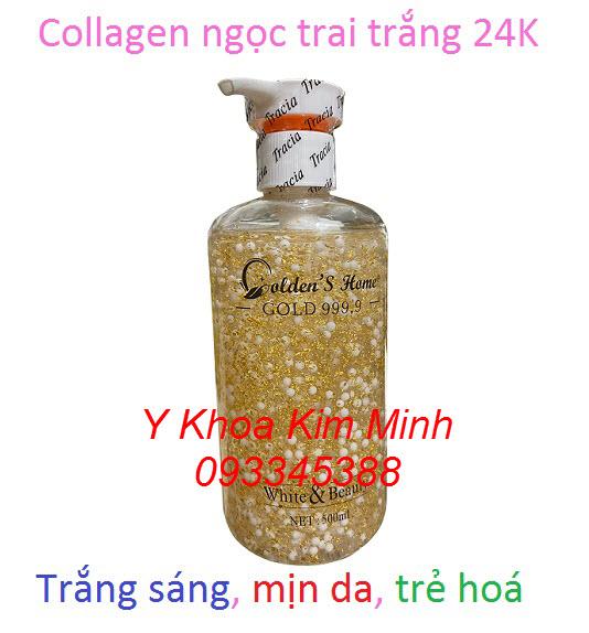 Collagen ngọc trai trắng 24K