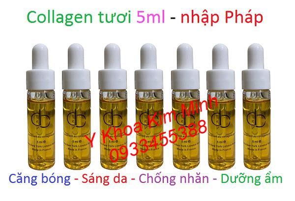 Collagen tươi Pháp hộp 5ml hộp 7 lọ