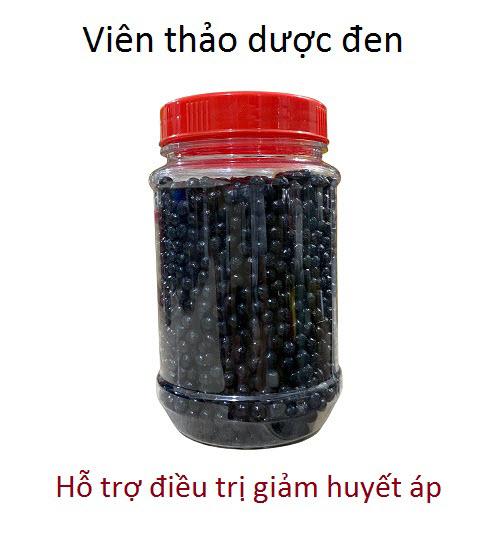 Giảm huyết áp cao bằng viên thảo dược đen