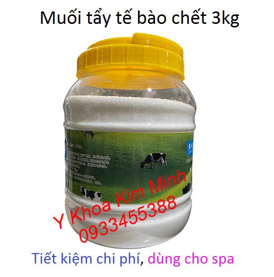Muối tẩy tế bào chết body 3kg