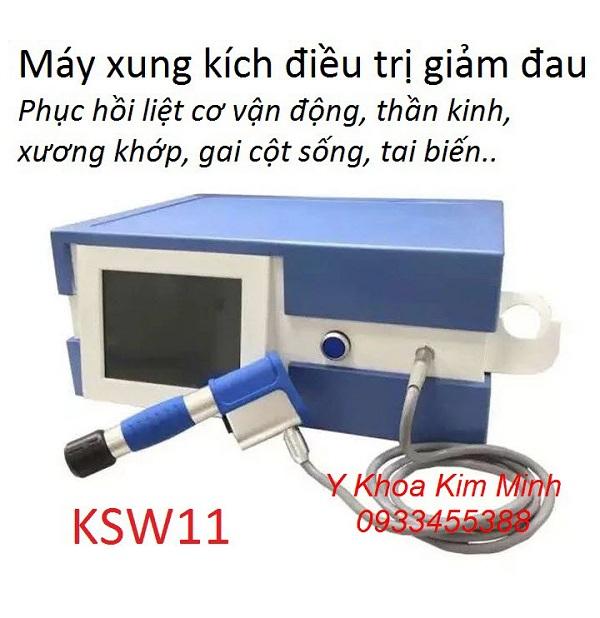 Máy xung kích trị liệu KSW11