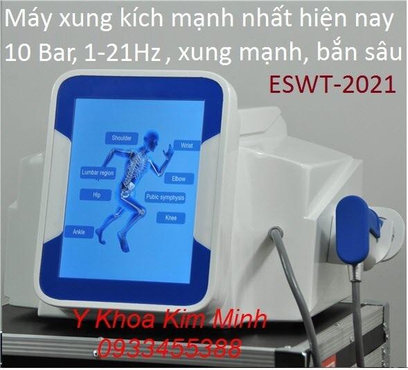 Máy xung kích trị liệu ESWT-2021