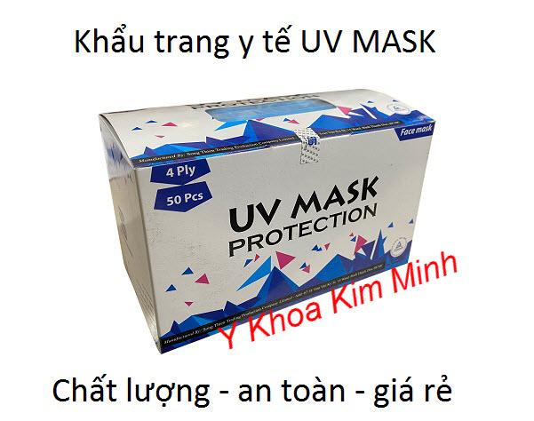 Khẩu trang y tế UV Mask giá rẻ