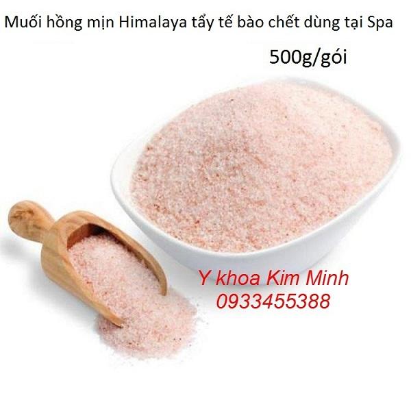 Muối hồng himalaya mịn tẩy tế bào chết 500g