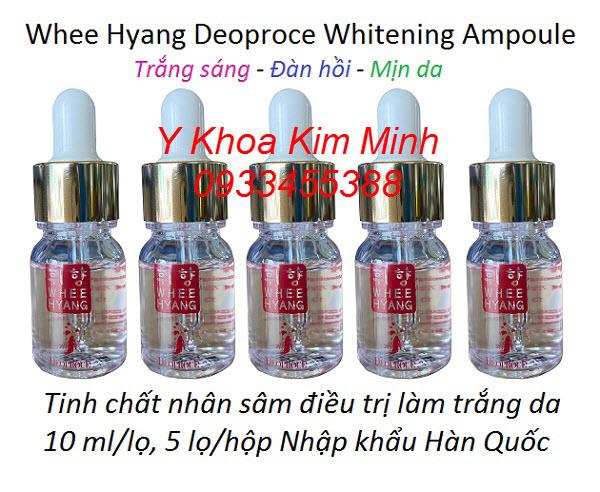 Whee Hyang Deoproce Whitening Ampoule 10ml