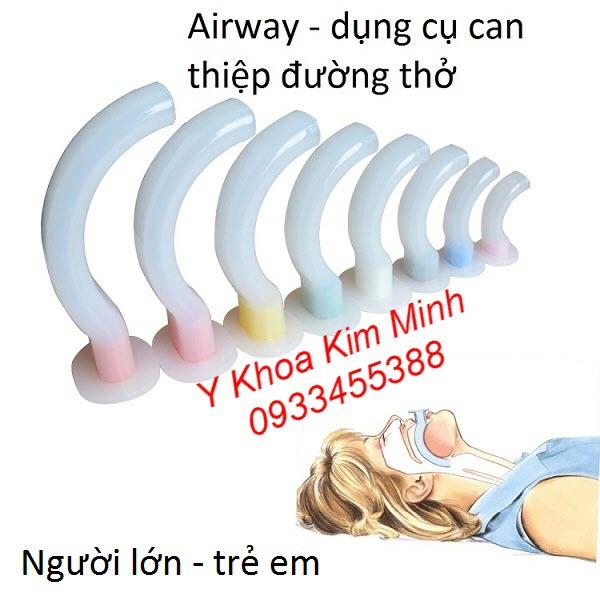 Dụng cụ đặt thông đường thở Airway