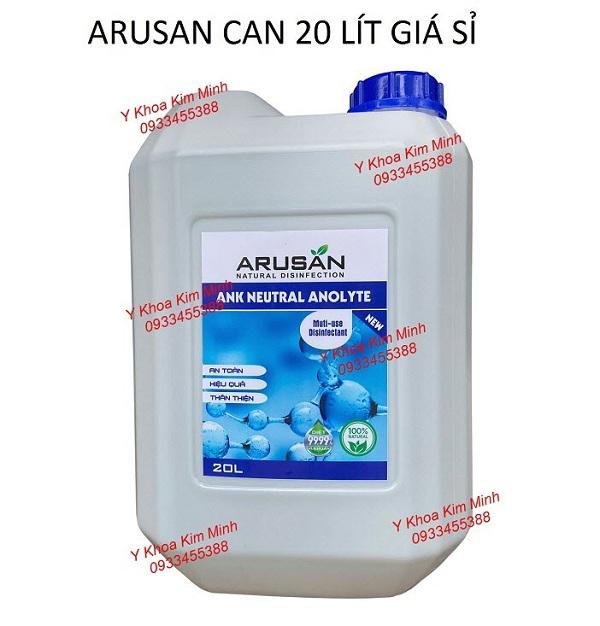 Dung dịch Arusan can 20 lít giá sỉ