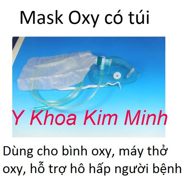 Mặt nạ oxy có túi
