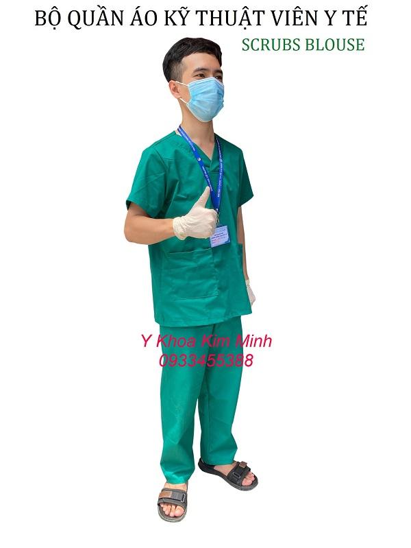 Quần áo kỹ thuật viên y tế Scrubs Blouse