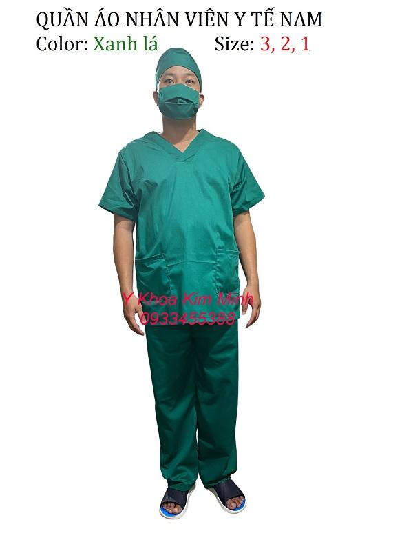 Quần áo nhân viên y tế Nam