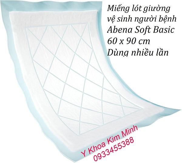 Miếng lót giường người già Abena Soft Basic