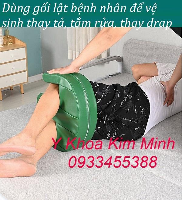 Gối lật bệnh nhân Kim Minh