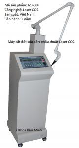 Máy cắt đốt xóa xăm phẩu thuật Laser CO2 JZ3-P30