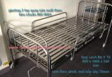 Giường y tế 2 tay quay km-02