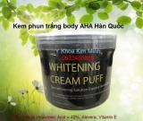Kem phun trắng body AHA Hàn Quốc