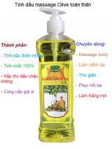 Dầu o liu massage toàn thân