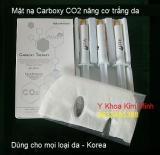 Mặt nạ Carboxy CO2 nâng cơ trắng da
