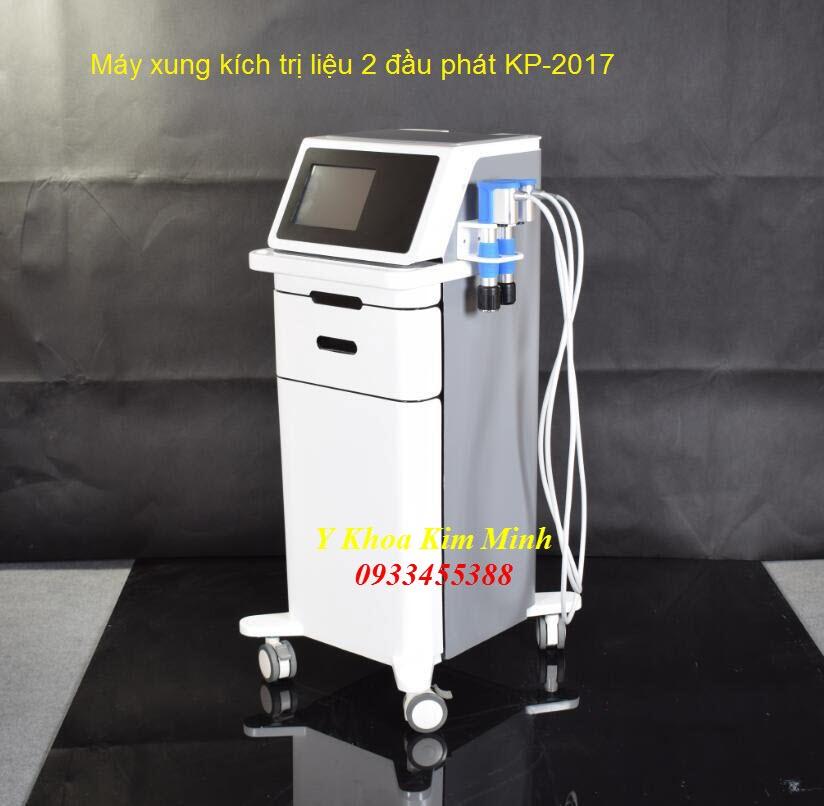 Máy xung kích trị liệu 2 đầu phát KP-2017