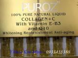 Puroz Collagen Vitamin C 100% nhập Pháp
