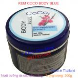 Kem Coco Body Blue 200g