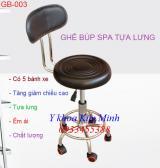 Ghế búp spa có tựa lưng GB-003