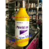 Povidine sát khuẩn y tế 500ml