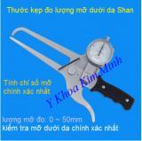 Thước kẹp đo lượng mỡ dưới da Shan