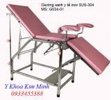 Giường sanh đẻ y tế inox G034-01