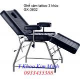 Ghế xăm tattoo 3 khúc GX-3602