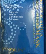 Đắp trắng da bằng bột mặt nạ Collagen Super Aqua