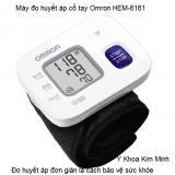 Omron Hem-6161 máy đo huyết áp cổ tay Nhật Bản