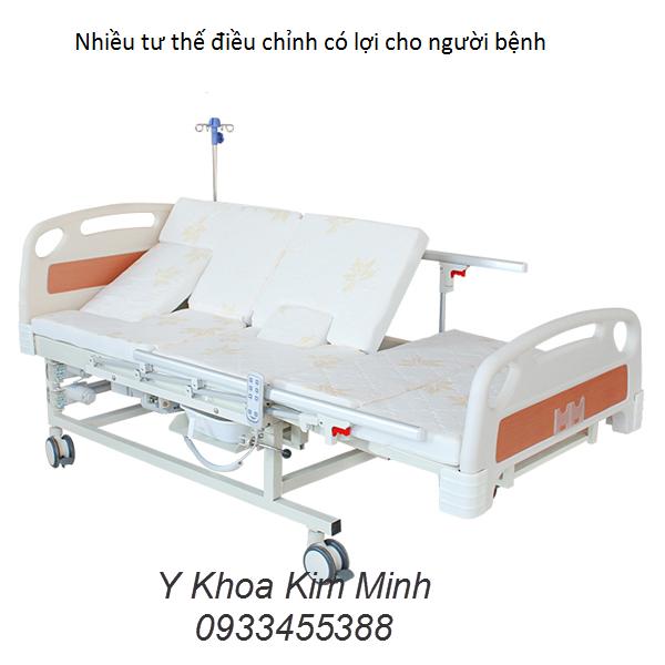 11 chức năng của giường y tế điều chỉnh điện DP-E20 - Y Khoa Kim Minh 0933455388