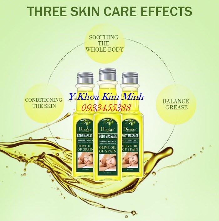 3 công dụng tuyệt vời của cơ thể body khi massage bằng tinh dầu olive - Y khoa Kim Minh