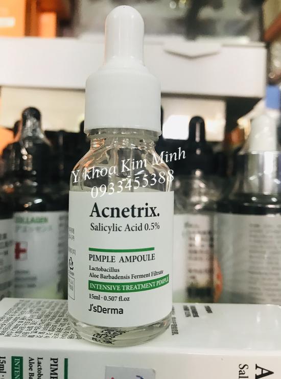 Acnetrix Ampoule chuyên chữa da viêm mụn mủ - Y Khoa Kim Minh 0933455388