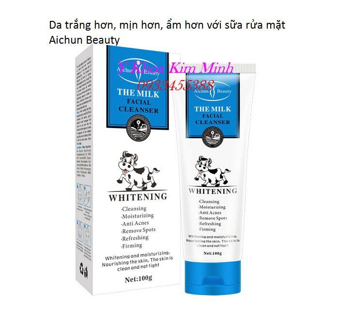 Sữa rửa mặt Aichun Beauty - Y Khoa Kim Minh phân phối giá sỉ