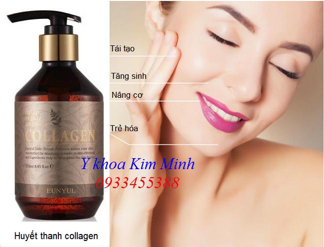 Nơi bán huyết thanh Collagen, ampoule collagen 250ml Eunyul Hàn Quôc chuyen tái tạo nâng cơ trẻ hóa da - Y khoa Kim Minh