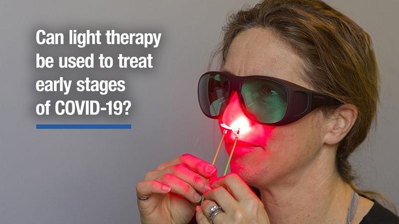 Phương pháp điều trị nhiễm virus Covid-19 giai đoạn đầu bằng ánh sáng hồng ngoại Biobeam 640nm