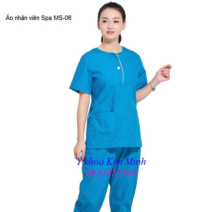 Quần áo thẩm mỹ spa MS-06 - Y khoa Kim Minh