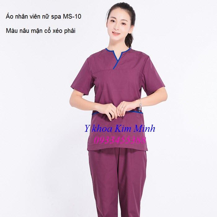 Áo dùng cho nhân viên nữ mã số 10 - Y khoa Kim Minh