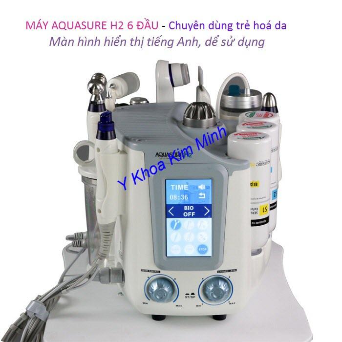 Máy trẻ hoá da Aqua Sure H2 Hàn Quốc chuyên dùng trẻ hoá da mặt - Y Khoa Kim Minh