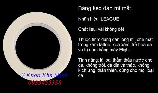 Bán băng keo lụa dán mi mắt tại Tp Hồ Chí Minh - Y Khoa Kim Minh 0933455388